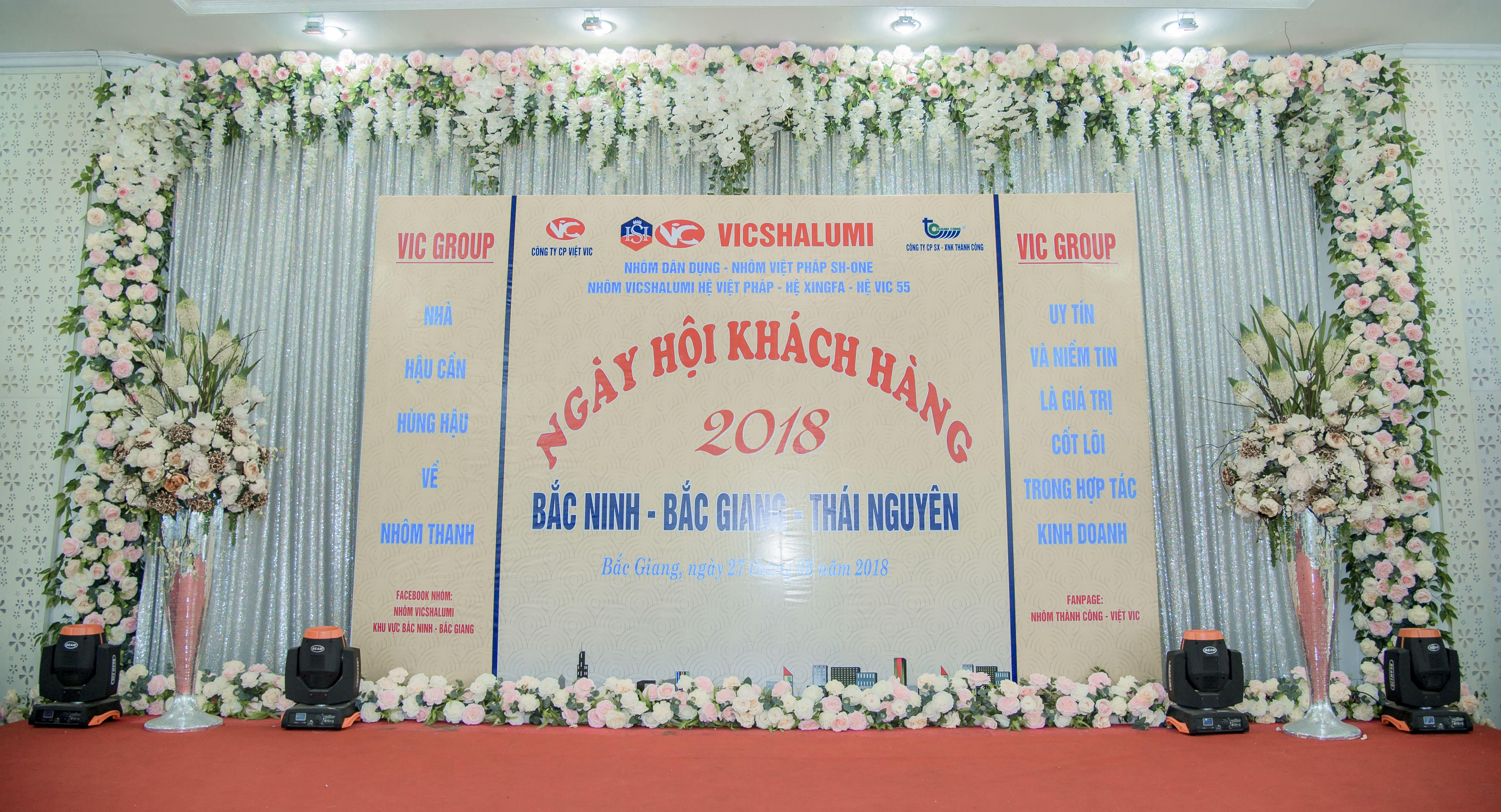 Sự Kiện Tháng 5 Của VIC GROUP Hội Tụ Khách Hàng 2 Tỉnh Bắc Ninh - Bắc Giang