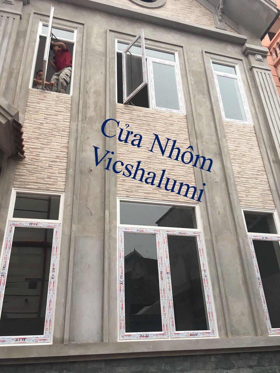 Mẫu Cửa Nhôm Vicshalumi